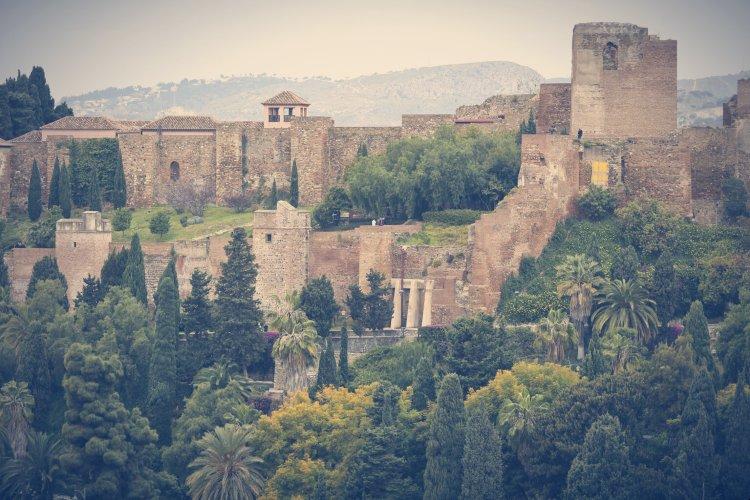 Qué ver en Málaga. Alcazaba de Málaga