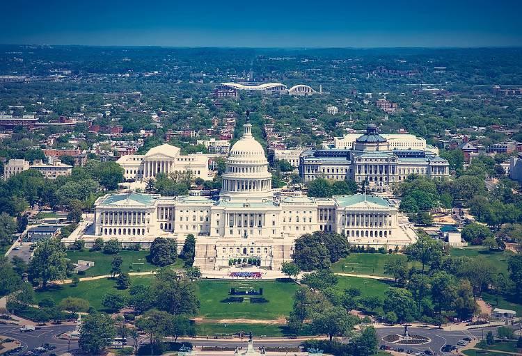 Qué ver en Washington DC. El Capitolio, Washington