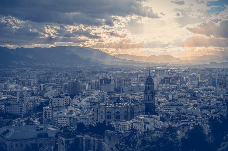 Qué ver en Málaga. Málaga atardeciendo