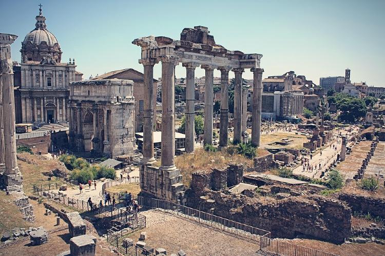 Ruinas del Antiguo Foro Romano
