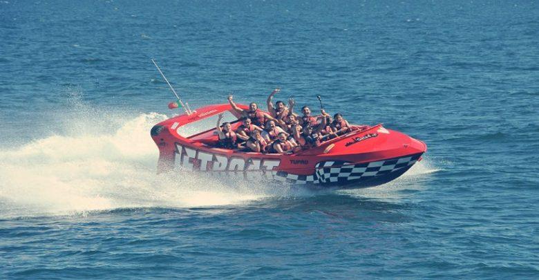 Experiencia Jet Boat en la Abufeira