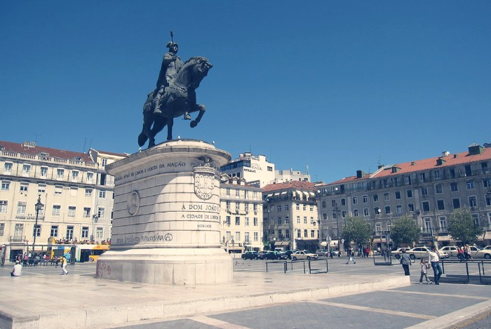 Visita guiada por Lisboa plaza de figueira