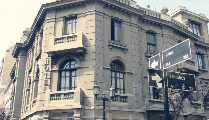 Visita guiada por Santiago de Chile barrio londres paris