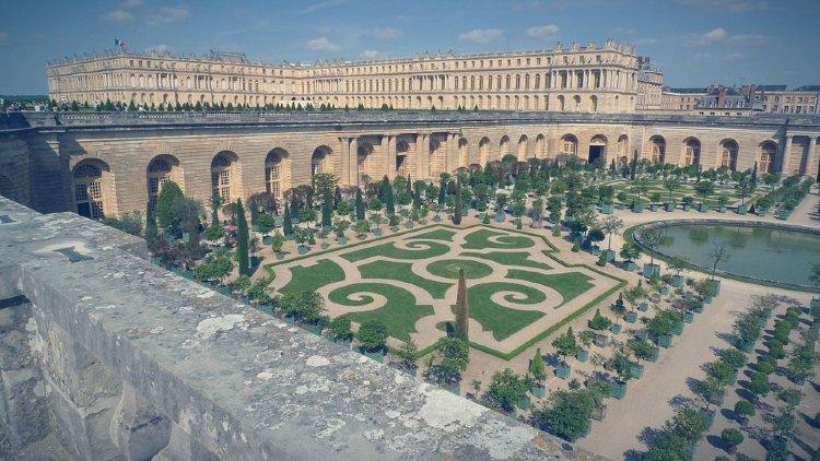 Exterior del Palacio de Versalles