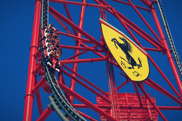 Thrill Towers Ferrari Land