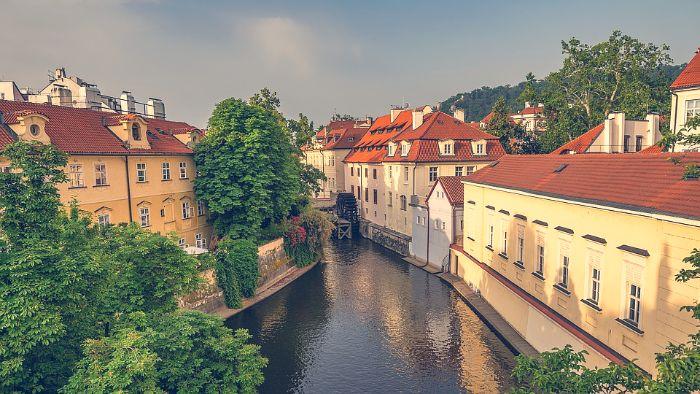 """Certovka, la """"Venecia checa de Praga"""""""
