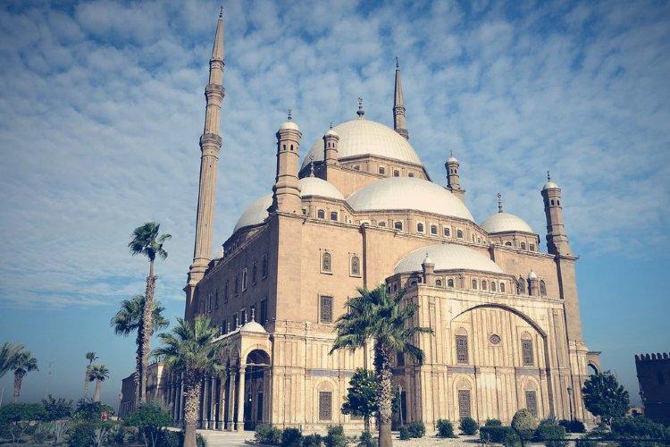 Mezquita de Mohamed Alí. El Cairo, Egipto