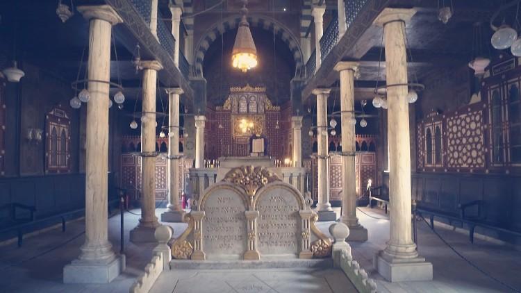 Sinagoga Ben Ezra el cairo egipto
