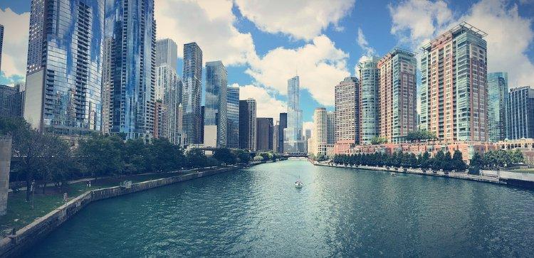 Visita guiada por Chicago rio
