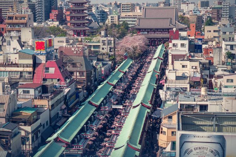 Que ver en Tokio. asakusa japon