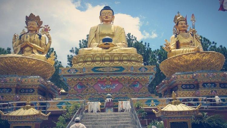 Templo Swambhunath, Katmandú