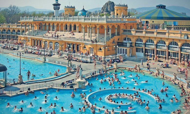 Baños Széchenyi en Budapest