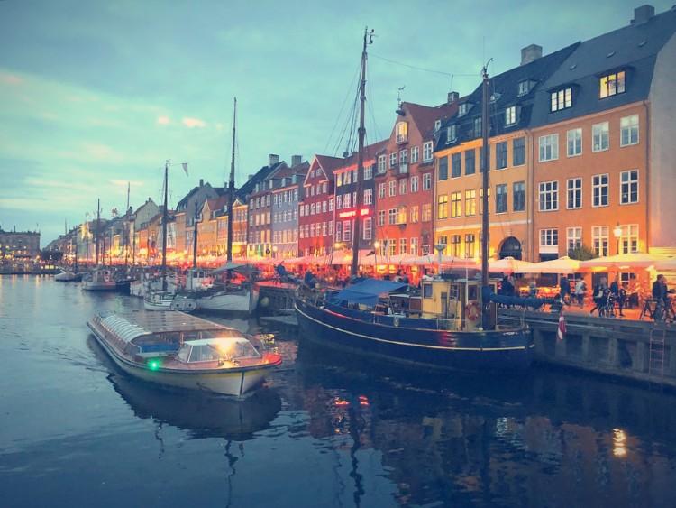 Los países más felices del mundo. Copenhage Dinamarca
