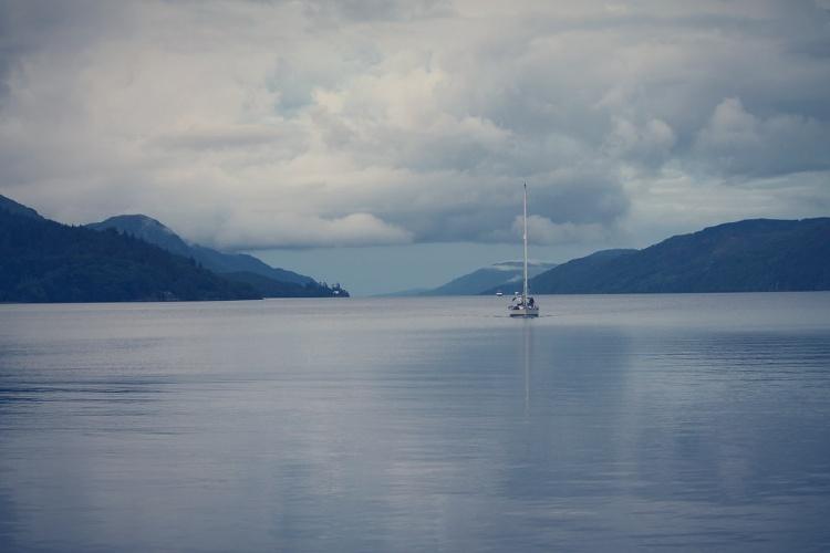 Lago Ness desde Edimburgo. El Lago Ness