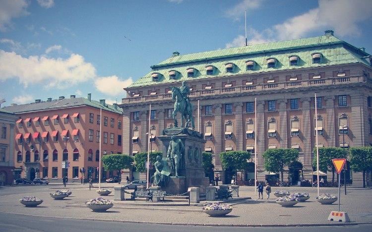 Estatua de Gustavo Adolfo II de Suecia