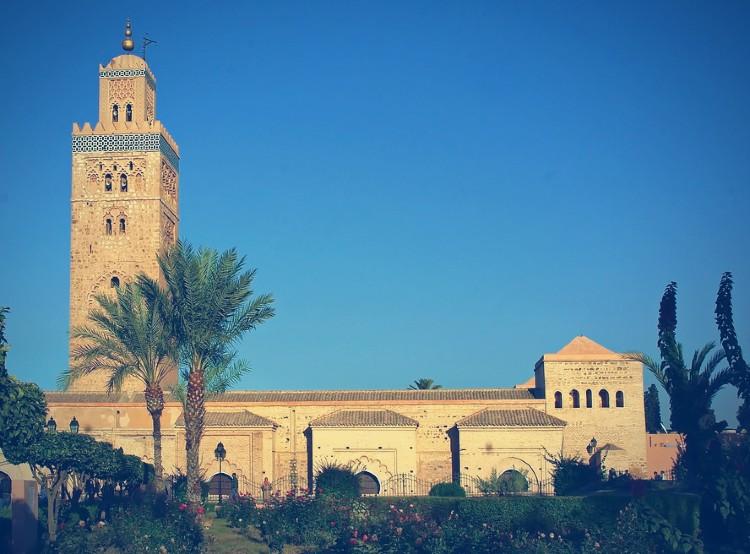 Que ver en Marrakech. Mezquita Koutoubia marrakech