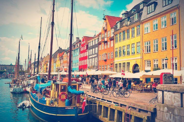 Que ver en Copenhage. Nyhayn, Copenhage