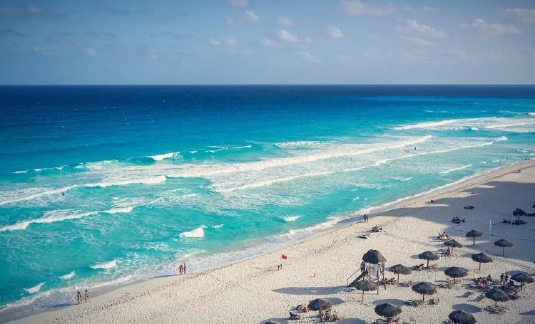 Que ver en Cancun. Playa Delfines, Cancún
