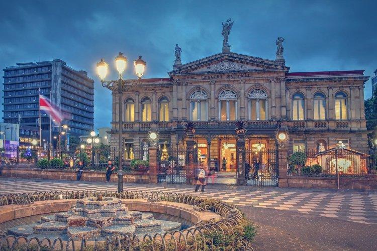 Que ver en Costa Rica. Teatro Nacional de San José de Costa Rica