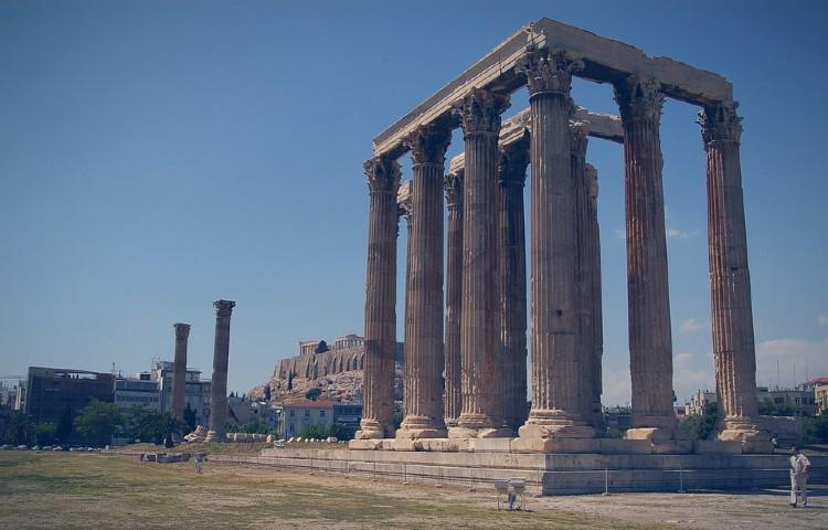 Que ver en Grecia. Templo de Zeus Olímpico