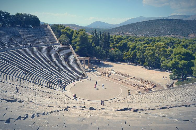 Antiguo teatro de Epidauro