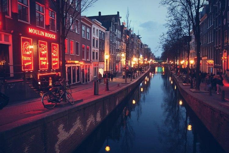 Barrio Rojo de Amsterdam, Países Bajos