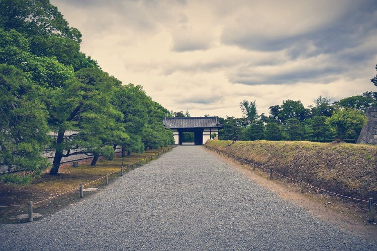 castillo nijo kioto japon