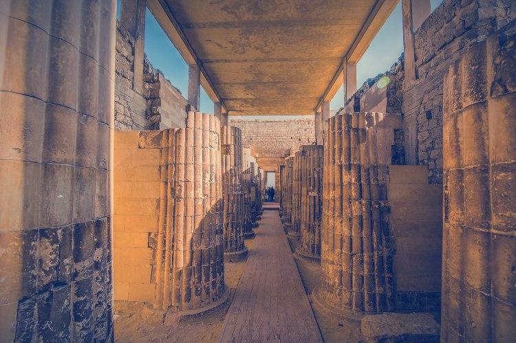 Interior ruinas de Saqqara