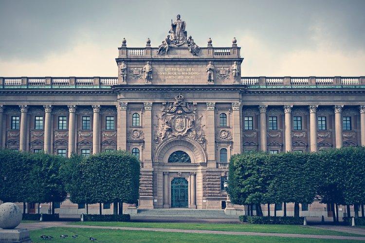 Edificio del Parlamento Sueco