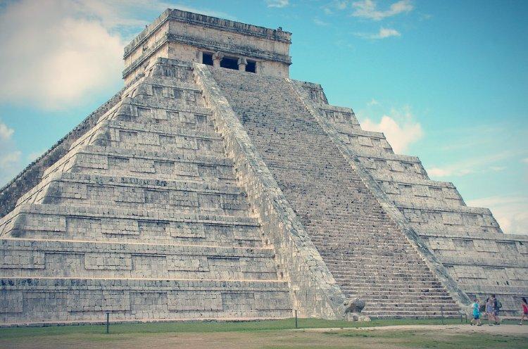 Pirámide de Kukulcán. Chichen itza