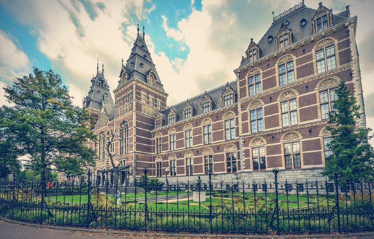Rijksmuseum. Plaza de los museos.