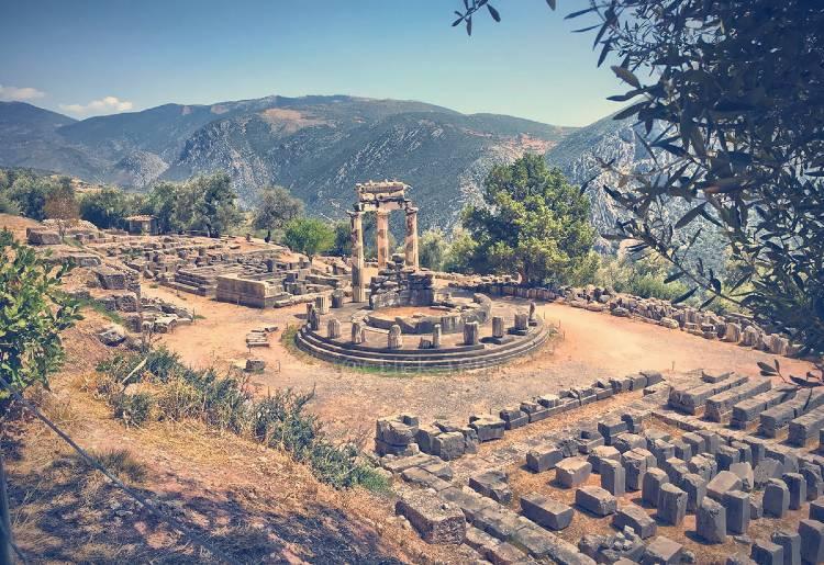 Que ver en Grecia. Santuario de Delfos