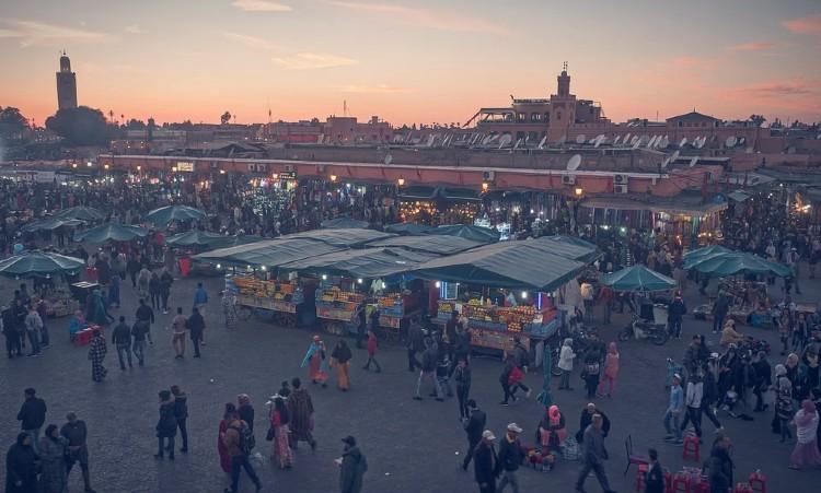 Que ver en Marrakech. Zoco