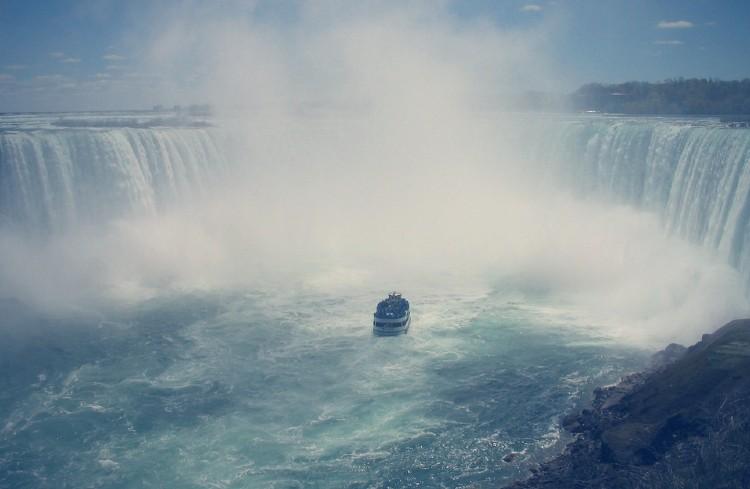Excursion a las Cataratas del Niágara desde Nueva York barco