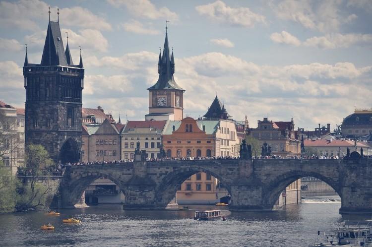 Tour en Praga en español. Puente de Carlos Praga