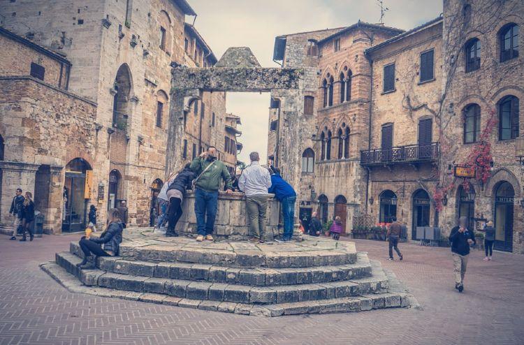 excursion a pisa desde florencia. San Gimignano Florencia Italia