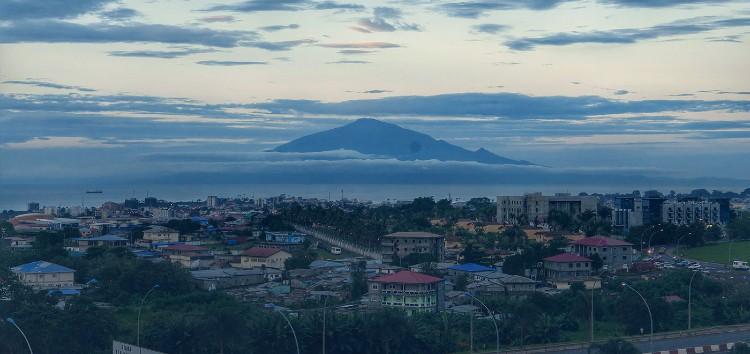 Malabo, capital de la República de Guinea Ecuatorial