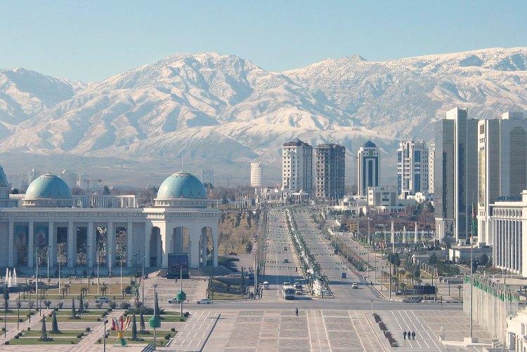 Los 8 países menos visitados del mundo. La República de Turkmenistán