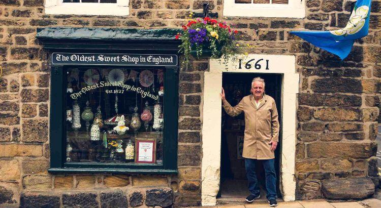 Records Guinness. La tienda de golosinas más antigua del mundo (Inglaterra)