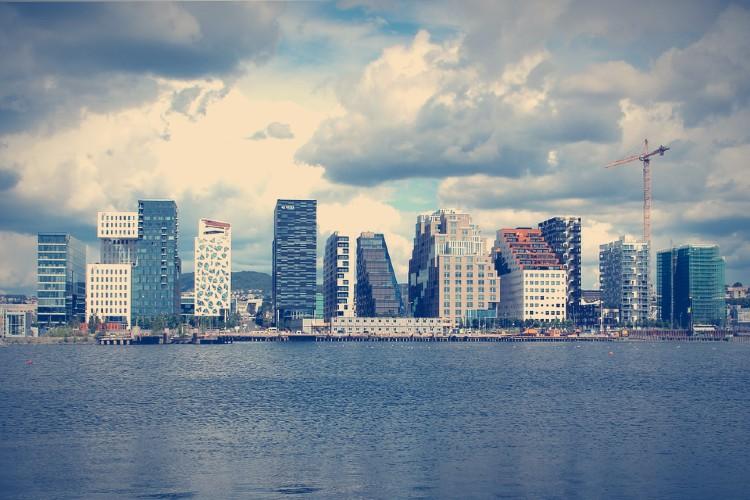 Los países más felices del mundo. Oslo Noruega