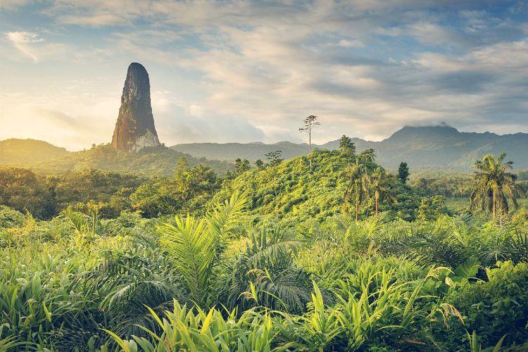 Los 8 países menos visitados del mundo. Santo Tomé y Príncipe