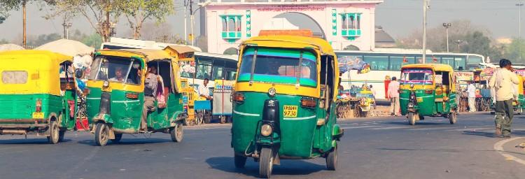 Tuk Tuk Agra