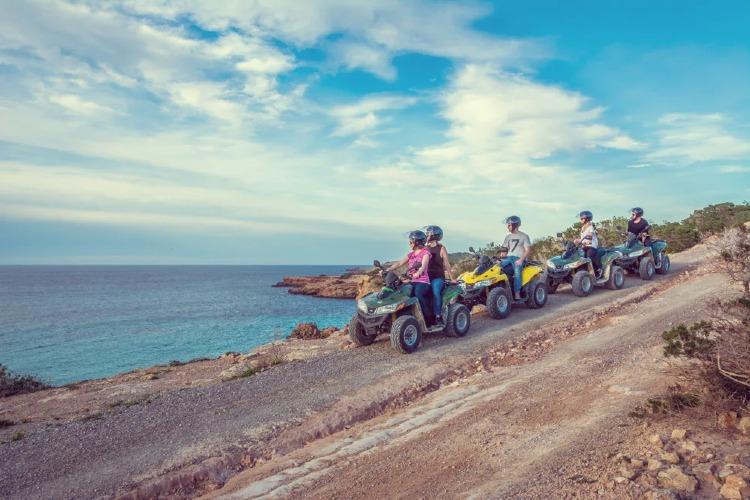 Las mejores islas del mundo. Tour en quad por Ibiza