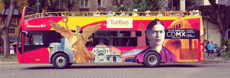 Visitar México. Autobús turístico de México