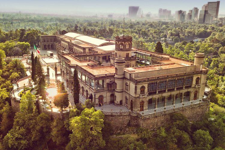 Visitar México. Castillo de Chapultepec