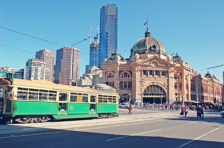 Estacion de Flinders Street Melbourne