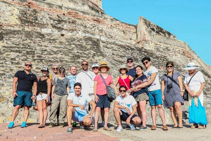 Cartagena de Indias turistas